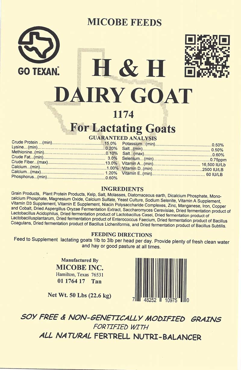 Dairy Goat Pellets 20 Pounds FREE SHIPPING!!