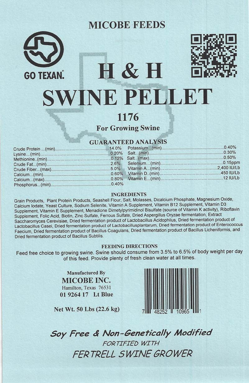 SALE!!!  Swine and Pig Grower 50 Pounds FREE SHIPPING!!