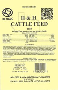 Cattle Feed Tag