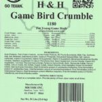 Game Bird Crumble Tag