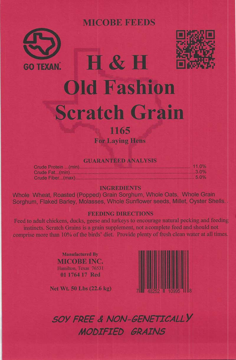 H And H Old Fashion Scratch Grain