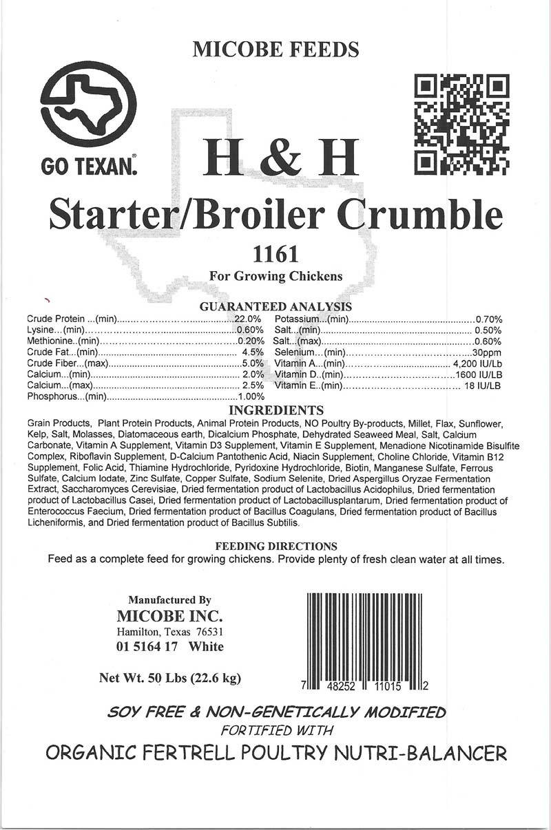 Starter Broiler Chick Feed Crumble 20 Pounds FREE SHIPPING!!